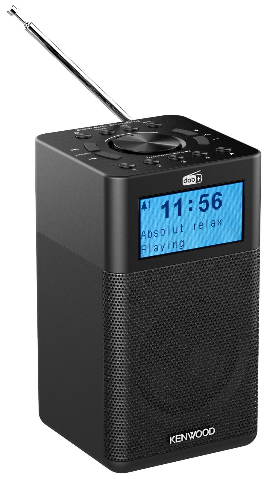 Kompaktné DAB+/FM rádio s Bluetooth