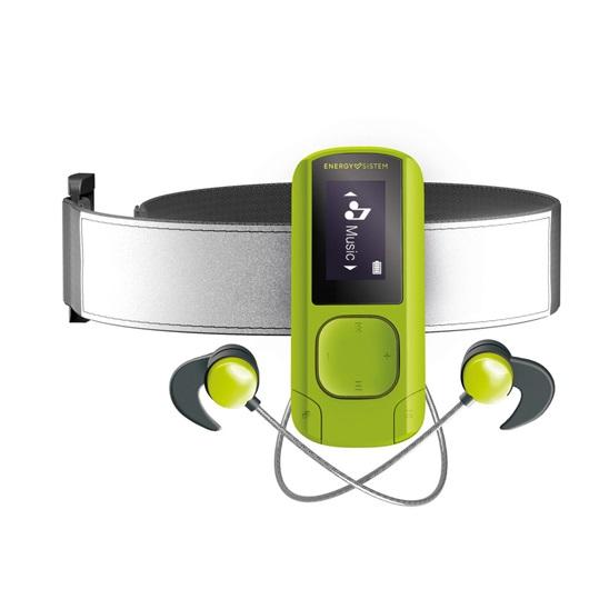 Energy Sistem MP3 Clip BT Sport Green