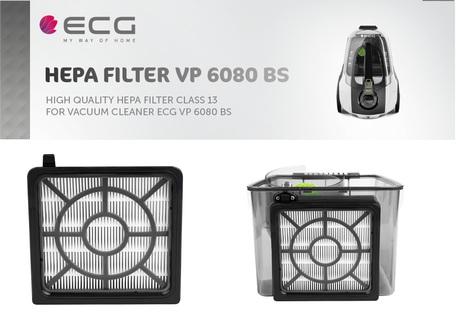 ECG VP 6080 BS HEPA filtr set
