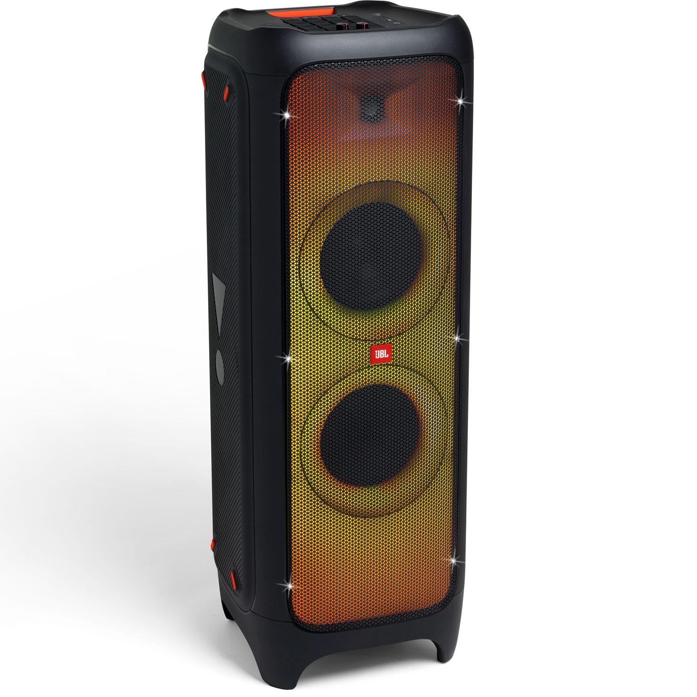 Výkonný Bluetooth párty reproduktor so svetelnými efektmi na celom paneli